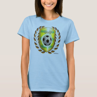 Brazil Gol! Ladies Babydoll Shirt
