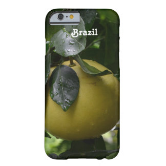 Brazil Grapefruit Barely There iPhone 6 Case