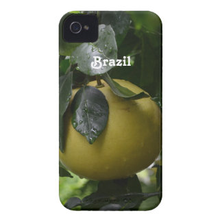 Brazil Grapefruit iPhone 4 Case-Mate Case