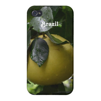 Brazil Grapefruit iPhone 4 Cases