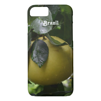 Brazil Grapefruit iPhone 7 Case