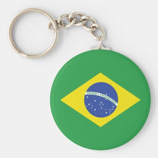 Brazil High quality Flag Keychain
