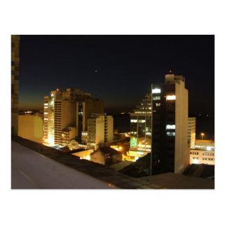 Brazil - Hotel View off Porto Alegre At Night