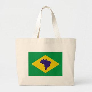 brazil icon jumbo tote bag