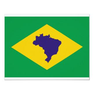 brazil icon card