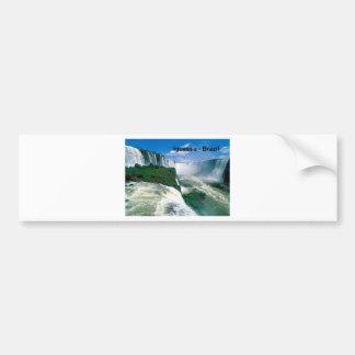 Brazil Iguassu Falls (St.K.) Bumper Sticker