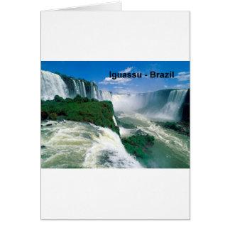 Brazil Iguassu Falls (St.K.) Card