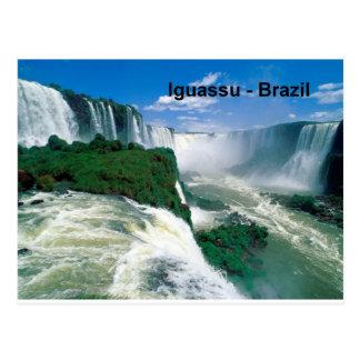 Brazil Iguassu Falls (St.K.) Postcard