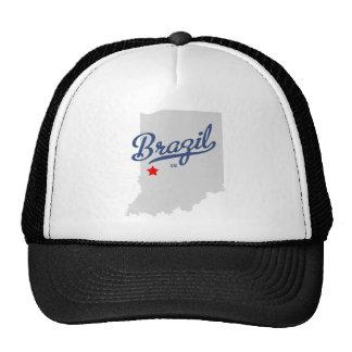 Brazil Indiana IN Shirt Trucker Hat