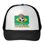 Brazil King Of Football Hats