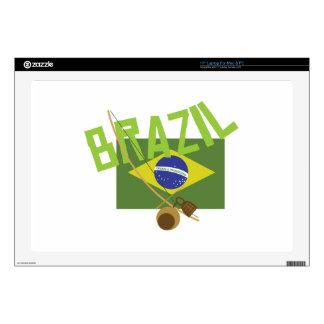 Brazil Laptop Skin