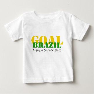Brazil - Life's A Soccer Ball Baby T-Shirt