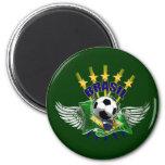Brazil logo emblem 5 star for dark gifts fridge magnets