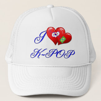 Brazil Love K POP Trucker Hat