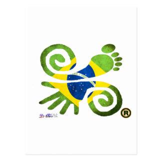 BRAZIL, LOVE, PEACE, LUCK, WWW.DRCHOS.COM,CURIOS, POSTCARD