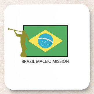 BRAZIL MACEIO MISSION LDS DRINK COASTER