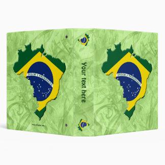 Brazil map binder
