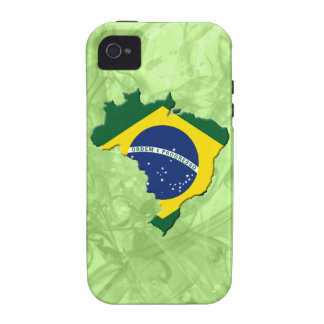 Brazil map vibe iPhone 4 covers