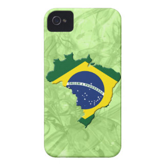 Brazil map iPhone 4 Case-Mate case