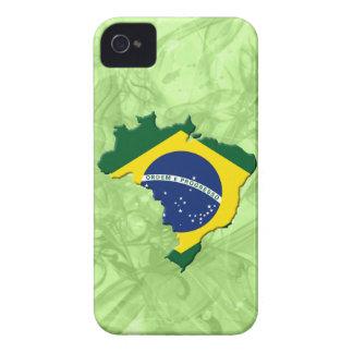 Brazil map iPhone 4 Case-Mate case