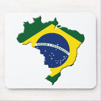 Brazil map mouse pads