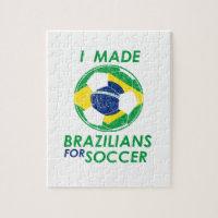 Brazil modernized flag design jigsaw puzzle