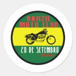 Brazil moto club adesivo
