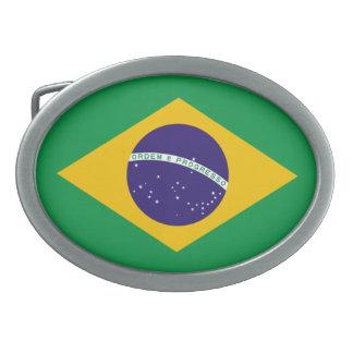 Brazil National Flag Belt Buckles