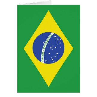 Brazil National Flag Card