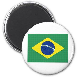 Brazil National Flag Magnet