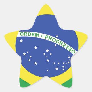 Brazil National Flag Sticker