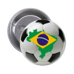 Brazil national team pinback button