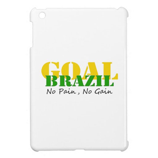 Brazil - No Pain No Gain Cover For The iPad Mini