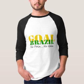 Brazil - No Pain No Gain T-Shirt