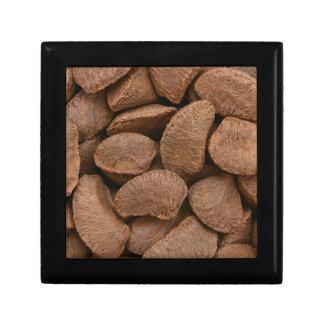Brazil nuts jewelry box