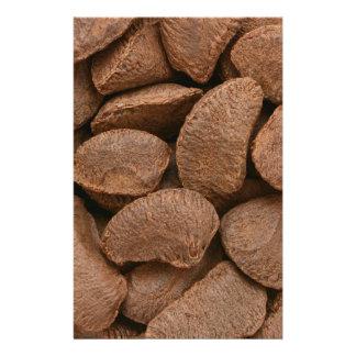 Brazil nuts stationery