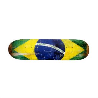 Brazil old flag skate deck