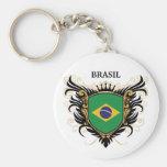 Brazil [personalize] keychain