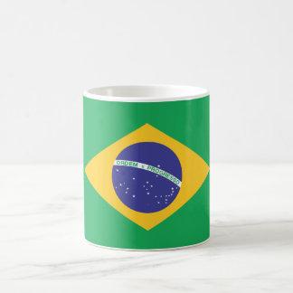 Brazil Plain Flag Coffee Mug