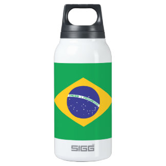 Brazil Plain Flag SIGG Thermo 0.3L Insulated Bottle