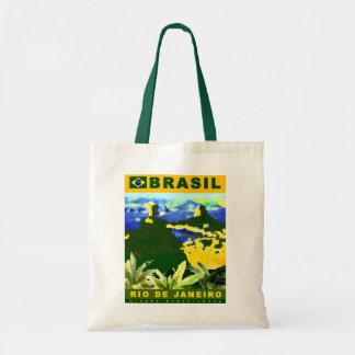Brazil poster design tote bag