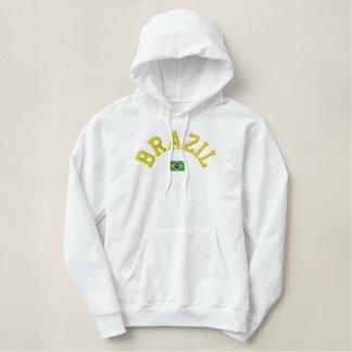 Brazil pullover hoodie - go Brazil!