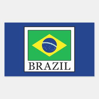 Brazil Rectangular Sticker