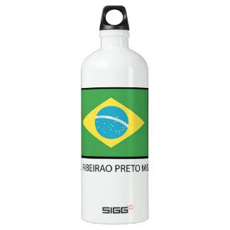Brazil Ribeirao Preto Mission LDS Aluminum Water Bottle