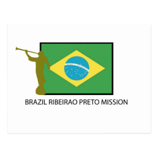 Brazil Ribeirao Preto Mission LDS Postcard