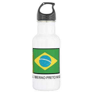 Brazil Ribeirao Preto Mission LDS Water Bottle