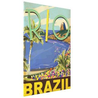 Brazil - Rio De Janeiro Canvas Print