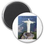Brazil Rio De Janeiro christ (St.K.) Fridge Magnet
