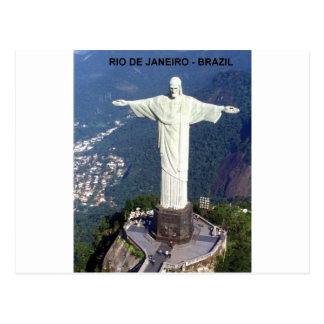 Brazil Rio De Janeiro christ (St.K.) Postcard