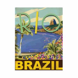 Brazil - Rio De Janeiro Cutout
